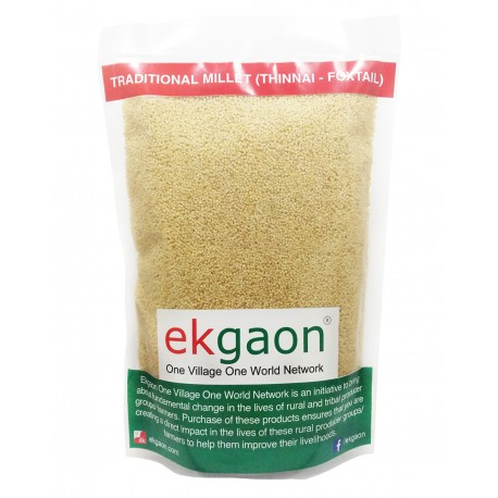 Traditional Millet (Thinai - Foxtail) 500 Gms
