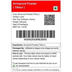 Arrowroot Powder (Tikhur) 250gm