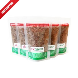 Ekgaon Raw Flax Seed (Pack of Five) 500g