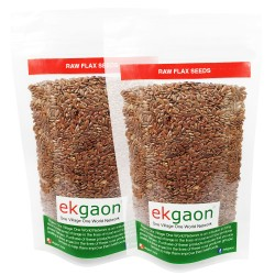 Raw Flax Seed (Pack of Two) 200g