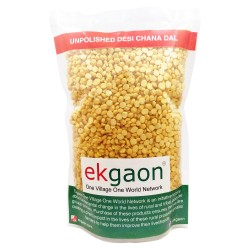 Unpolished Desi Chana Dal (Split Bengal gram) 500 Gms