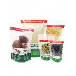 Pongal Combo (Premium Aromatic Rice 1kg , Moong Dal 500g , Black Pepper 50g , Cardamom - Eliachi 50g , Dates Palm Jaggery)500g
