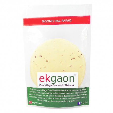 Moong Dal Papad (Dried) 300gm