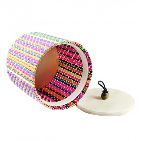 Multicolour Q Box (Round)