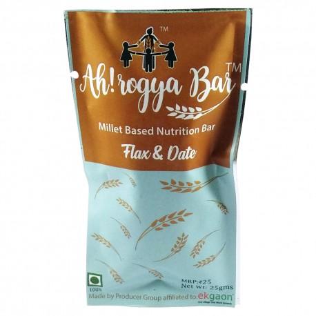 Ah! rogya Bar ( Flax&Date) 25gms