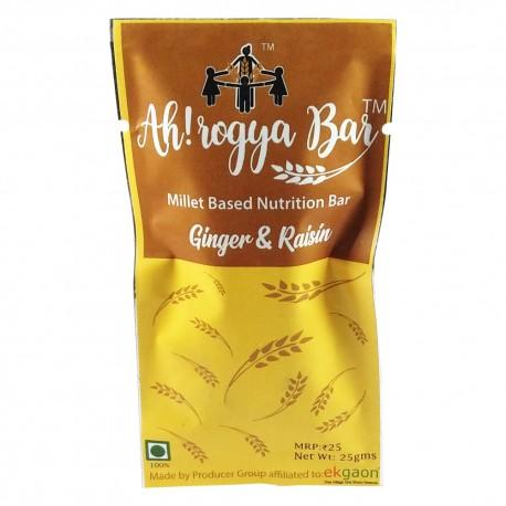 Ah! rogya Bar ( Ginger&Raisins) 25gms