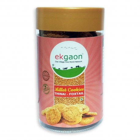 Thinai-Foxtail Millet Cookies(115 Gms)