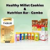 Healthy Millet Cookies & Nutrition Bar - Combo