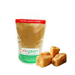 Natural Sweeteners (Sugarcane) (Natural Jaggery(Gud) 500g,Natural Jaggery Powder 500g)
