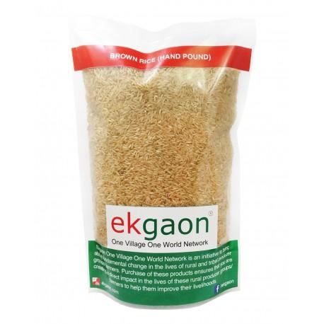 Brown Rice (Hand Pound) 500Gms